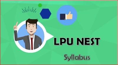 NEST Syllabus