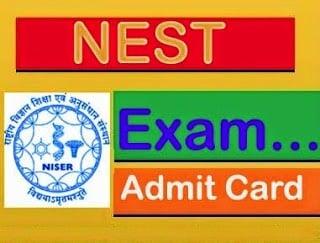 NEST admit card