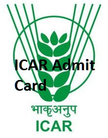 ICAR Admit Card