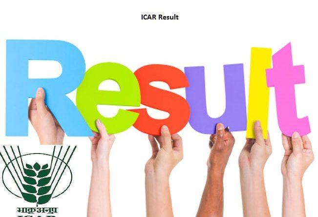 ICAR Result