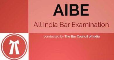 AIBE Exam Date