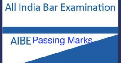 AIBE Passing Marks