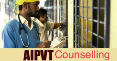 AIPVT Counselling
