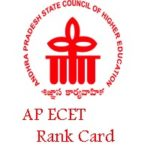 AP ECET Rank Card