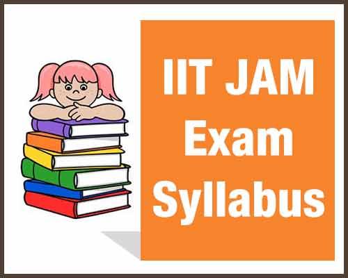 IIT JAM Syllabus