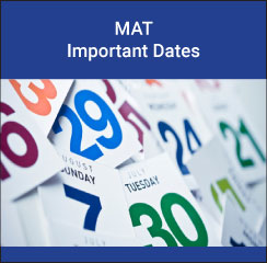 MAT Important Dates