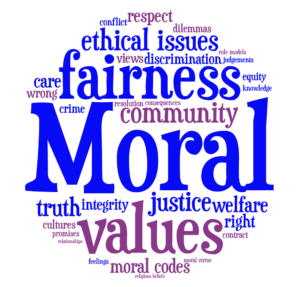 lack of moral values in youth