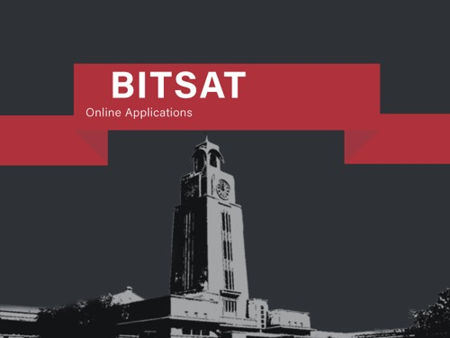bitsat online application