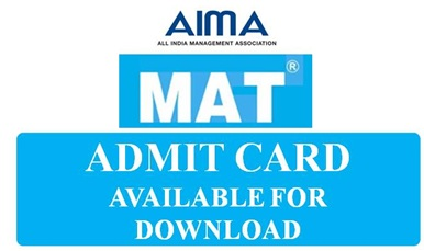 mat admit card