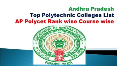AP Top 10 Polytechnic Colleges