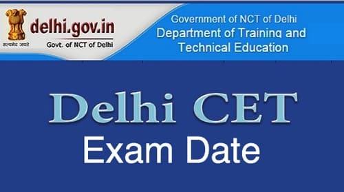 CET Delhi Exam Date