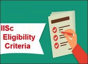 IISC eligibility