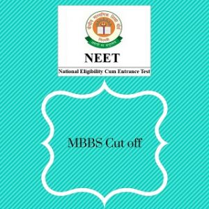 NEET cut off for MBBS