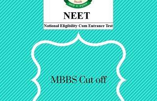 NEET cut off for MBBS