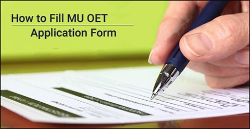MU OET Application Form