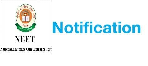NEET Notification
