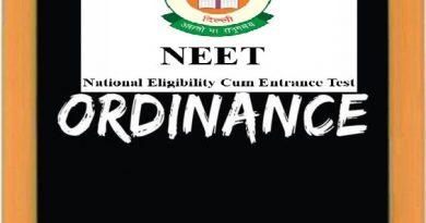 NEET Ordinance