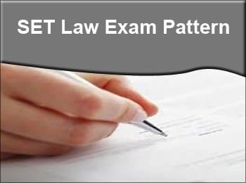 SET Exam Pattern