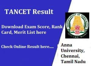 TANCET Results