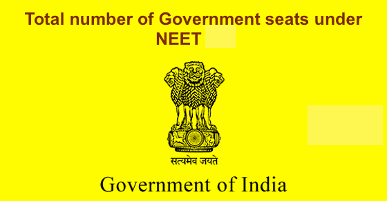 NEET 2020 Seats, Updated, Revised – Check Govt & Private Seats
