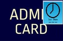 SAAT Admit card 2018-19