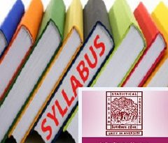 Indian Statistical Institute Test Syllabus