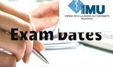 IMU CET Exam Date