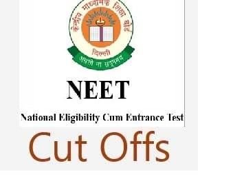 Expected Cutoff of NEET 2018