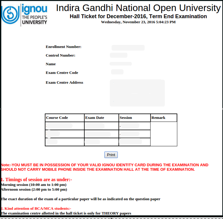 how to get bonafide certificate from ignou