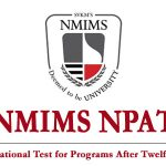 NMIMS NPAT Full Form