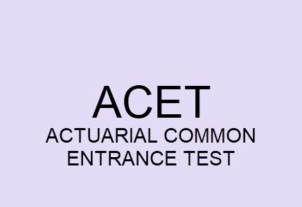 ACET Exam Eligibility