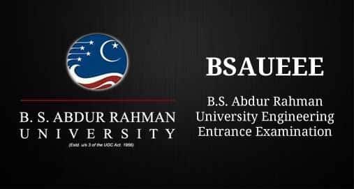 BSAUEEE-Engineering-Entrance-Examination