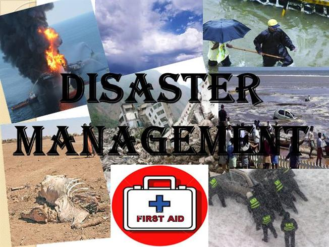 disaster management essay for students school college