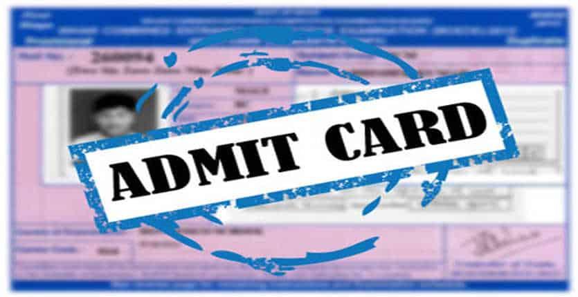 MAH CET Admit Card