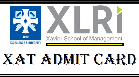 XAT Admit Card