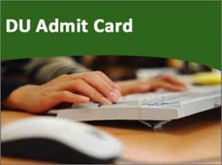 du admit card
