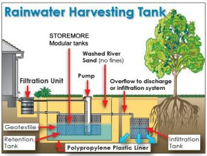 Rainwater harvesting essay in english for students ias paper for Rainwater harvesting at home