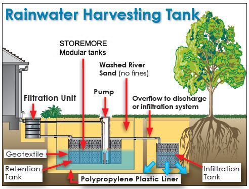 rainwater harvesting essay in english for students