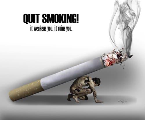 No Smoking Slogans with Posters in English & Hindi