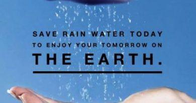 Slogans on Rainwater Harvesting