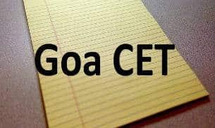 GOA CET 2020