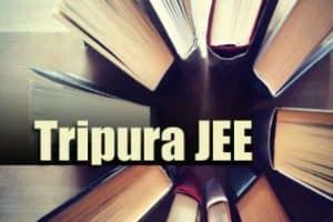 Tripura JEE 2020