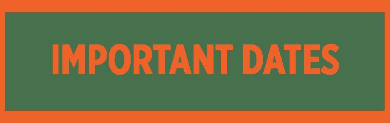 GLAET -Important-Dates