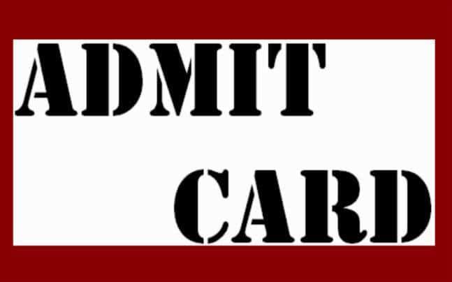 utkal admit card