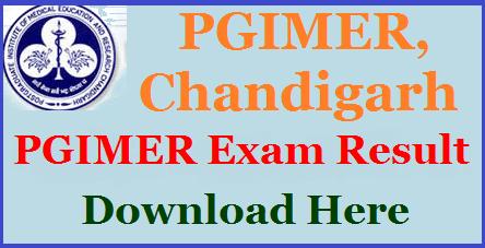 PGIMER Nursing 2018: Result, Counselling, Seat Allotment