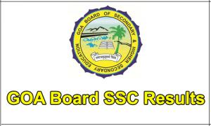 Goa Board SSC Result 2019