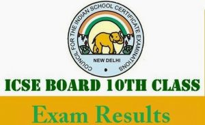 ICSE 10th Result 2019