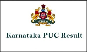 Karnataka PUC Result 2019