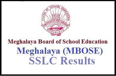 MBOSE SSLC Result 2019