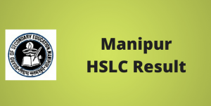 Manipur HSLC Result 2019